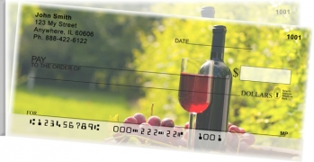 Click on Wine and Dine Side Tear Personal Checks thumbnail to view the product detail page