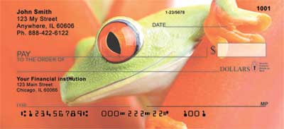 Click on Frogs Top Tear Personal Checks For More Details