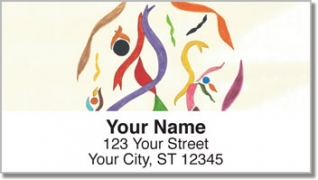 Click on Performing Arts Address Labels For More Details