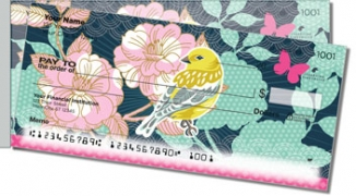 Click on Birds and Blooms Side Tear Personal Checks For More Details