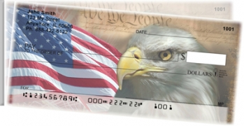 Click on American Eagle Pride Side Tear Personal Checks For More Details