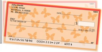 Click on Butterfly Side Tear Personal Checks For More Details