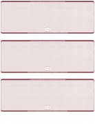 Learn more about Burgundy Safety Blank High Security 3 Per Page Laser Checks