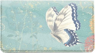Click on Beautiful Butterflies Leather Checkbook Cover For More Details