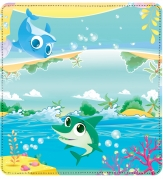 Click on Cute Marine Life Leather Checkbook Cover For More Details