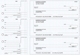 Click on Blue Knit Standard Counter Signature Business Checks For More Details