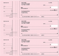 Learn more about Deskset Style 2 Pink Safety Personal Checks
