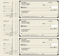Learn more about Deskset Style 2 Parchment Personal Checks
