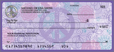 Click on Peace Religious - 1 Box Personal Checks For More Details