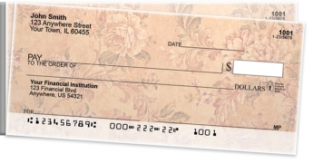 Click on Vintage Baroque Side Tear Personal Checks For More Details