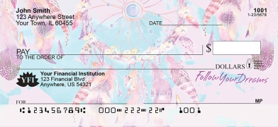 Click on Dream Catchers Personal Checks For More Details