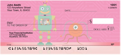 Click on Robot Friends Personal Checks For More Details
