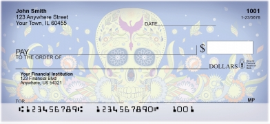 Day-of-the-Dead-Personal-Checks