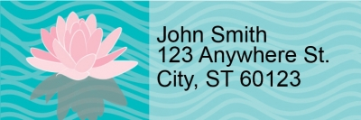 Click on Water Lilies Address Labels For More Details