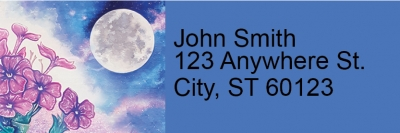 Click on Celestial Moons Address Labels For More Details