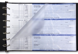 Learn more about Frosted Business Check Divider