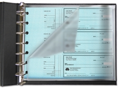 Learn more about Frosted Deskset Check Divider