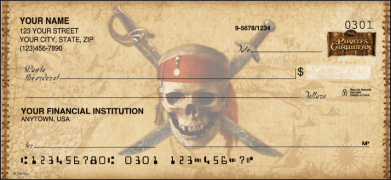 Click on Pirates of the Caribbean Disney - 1 Box Personal Checks For More Details