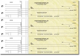 Click on Goldenrod General Purpose 3-on-a-Page Checks - 1 Box For More Details