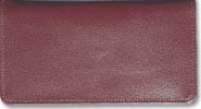Click on Burgundy Checkbook Cover For More Details