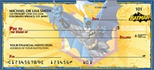 Click on Batman Comic - 1 Box Personal Checks For More Details
