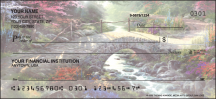 Click on Serenity by Thomas Kinkade without Bible verse Religious - 1 Box Personal Checks For More Details