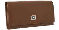 Click on Ladies Leather Clutch Wallet, Tan RFID Wallet For More Details