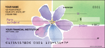 Click on Watercolors by Kathy Davis Garden - 1 Box Personal Checks For More Details