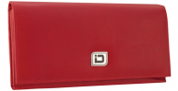 Click on Ladies Leather Clutch Wallet, Red RFID Wallet For More Details