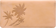 Click on Palm Trees Checkbook Cover For More Details
