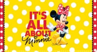 Click on Disney Minnie Mouse Leather Checkbook Cover For More Details