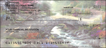Click on Serenity by Thomas Kinkade with Spanish verse Religious - 1 Box Personal Checks For More Details