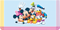 Click on Mickey's Adventures Checkbook Cover For More Details
