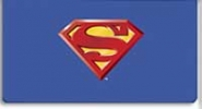 Click on Superman Checkbook Cover For More Details