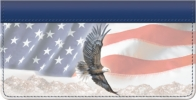 Click on American Eagle And Flag Checkbook Cover For More Details