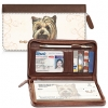 Click on Yorkie Zippered Checkbook Cover For More Details