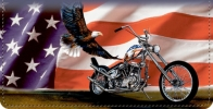 Click on Ride Hard. Live Free Patriotic Motorcycle Checkbook Cover For More Details