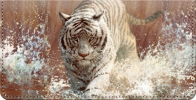 Click on Vanishing Treasures Tiger Checkbook Cover For More Details