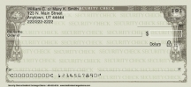 Click on Security Classic Personal Checks For More Details