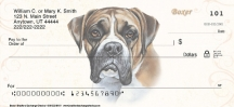 Click on Boxer Dog Personal Checks For More Details
