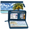 Click on Tropical Paradise Zippered Wallet Checkbook Cover For More Details