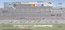 Click on NASCAR® Racetracks  Personal Checks For More Details