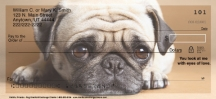 Click on Faithful Friends - Pug Dog Personal Checks For More Details