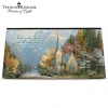 Click on Thomas Kinkade Faith for all Seasons Cosmetic Tote Bag For More Details