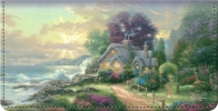 Click on Thomas Kinkade's Seasons of Reflection Checkbook Cover For More Details