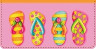 Click on Flip Flop Fun Checkbook Cover For More Details