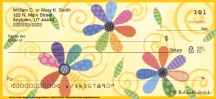 Click on Flower Power Personal Checks For More Details
