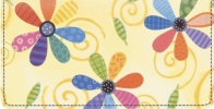 Click on Flower Power Checkbook Cover For More Details