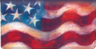 Click on Waves of Freedom Checkbook Cover For More Details