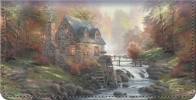Click on Thomas Kinkade's Country Escapes Checkbook Cover For More Details